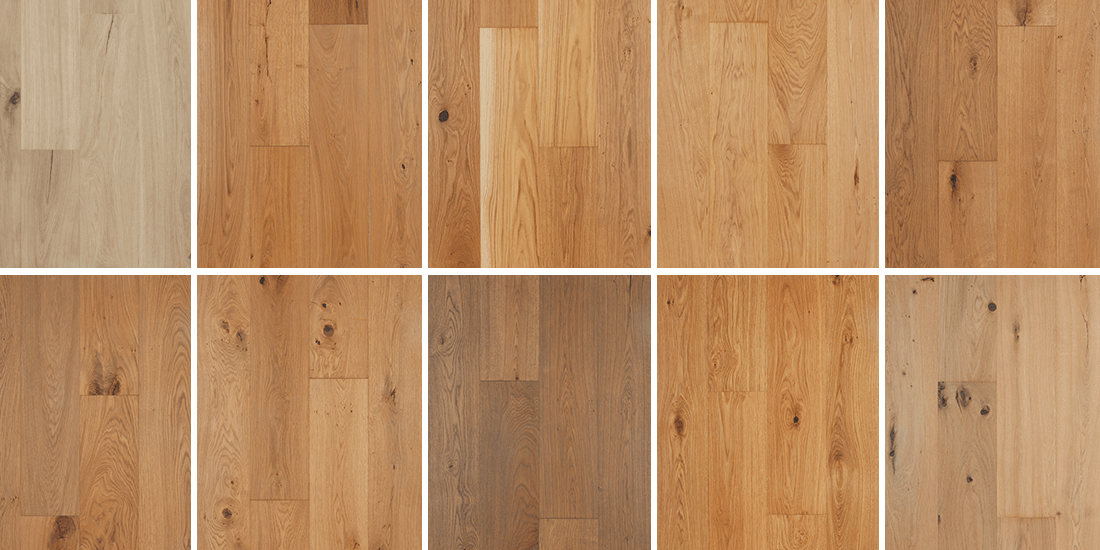 European Oak Strip flooring