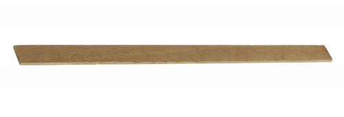 Solid Oak flat 30mm x 5mm cover strip