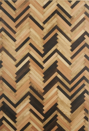 Multiple Species Herringbone | Mana Range | Zimbo's Oak Flooring