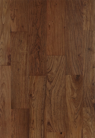 All Brown Teak Strip Flooring